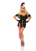 Foxy Fringe Women Flapper Costume