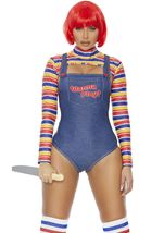 Adult Wanna Play Killer Movie Character Woman Costume