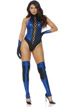 Fight Video Game Woman Costume