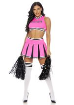 Adult Score Cheerleader Woman Costume