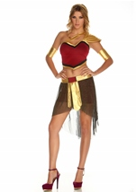 Built to Last Women Roman Goddess Costume