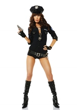 Racy Reinforcement Woman Police Costume