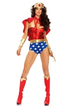 Wonder Queen Woman Hero Costume