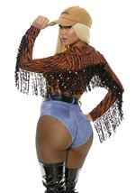 Adult So Exotic Leopard Print Celebrity Woman Costume