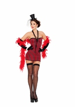 Saloon Seductress Women Flapper Costume