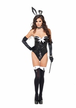 Voila Flashy Rabbit Sequin Bodysuit Costume
