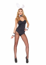 Adult Haute Hare Black Luminous Women Bodysuit