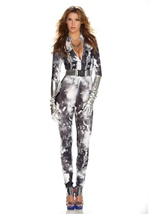 Astonishing Astronaut Woman Bodysuit Costume