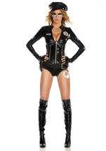 Mrs Officer Deluxe Women Police Costume