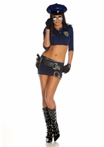 Woman Police Armed And Dangerous Costume
