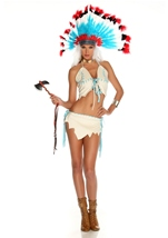 Tipi Treat American Indian Woman Costume