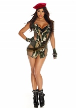 Adult Charming Camo Women Costume