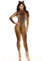 Kitty Kat Women Feline Costume