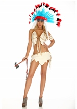 Tribal Tease Women Native American Costume