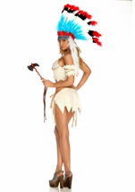 Adult Tribal Tease Woman Native American Costume
