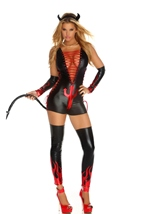 Dark Fantasy Women Devil Costume