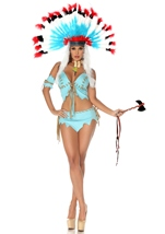 Tomahawk Hottie Native American Women Costume