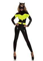 Adult Darque Nights Sexy Superhero Women Costume