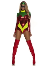 Astonishing Accomplice Women Sexy Superhero Costume