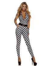 1st Place Sexy Racer Women Halloween Costume