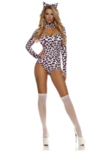 Leopard Woman Bodysuit Costume