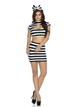 Busted Women Prisoner Costume