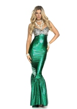 Mermaid Under The Sea Beauty Woman Costume