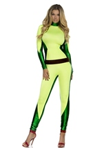 Adult Super Power Woman Super Hero Costume