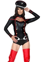 Adult Militant Miss Military Woman Costume