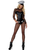 Police Woman Opulent Officer Costume
