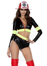 Firefighter Woman Costume
