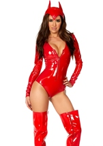 Adult Burning Desire Woman Devil Costume