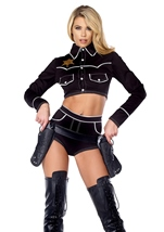 Shoot Down Cowgirl Costume