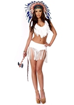 Adult Indian Summer Native American Woman Costume