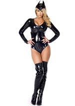 Catty Conqueror Superhero Costume