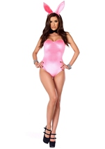 Bunny Cotton Candy Cottontail Bodysuit Costume