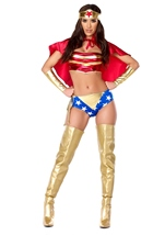 Wonder Heroine Woman Costume