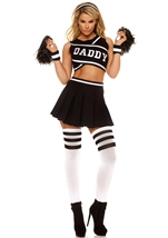 Adult  Girl Cheerleader Costume