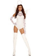 Heavenly Angel Woman Deluxe Costume