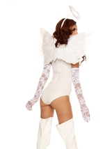 Adult Heavenly Angel Woman Deluxe Costume