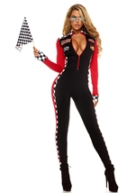 Adult Racer Woman Top Speed Costume