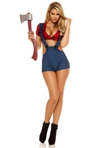 Chop Down Female Lumberjack Costume
