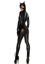 Adult Cat Woman Villian Bodysuit Costume