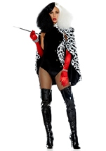 Adult Devilish Storybook Villain Costume