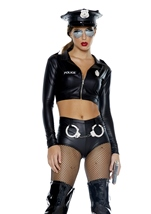 Adult Under Investigation Cop Costume