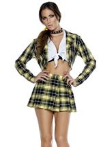Movie Star Schoolgirl Halloween Costume