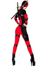 Rebellious Woman Warrior Halloween Costume