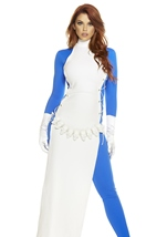 Adult Comic Book Villain Woman Costume