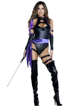 Adult Karate Chop Woman Ninja Costume