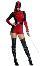Merciless Assassin Woman Movie Character Costume